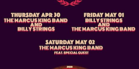 The Marcus King Band + Billy Strings tickets