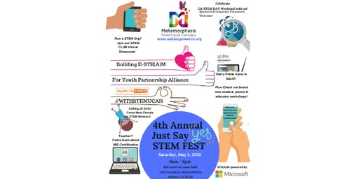 4th Annual Just Say YES STEMFEST at Microsoft