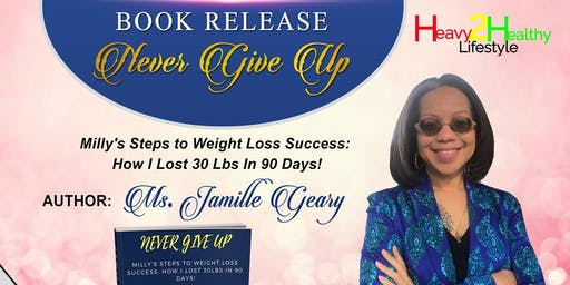 """Book Release """"Never Give Up"""""""