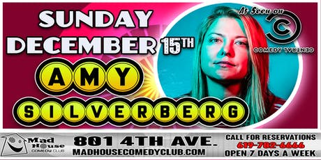 Amy Silverberg as seen on Comedy Central and the Just For Laughs Festival! tickets