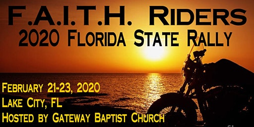 FAITH Riders 2020 Florida State Rally