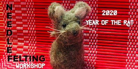 New Year's Needle Felting Workshop tickets