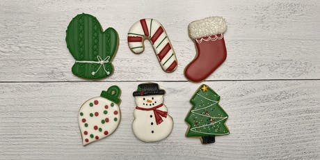 Holiday themed Sugar Cookie Class tickets