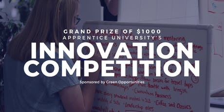 Innovation Competition   Apprentice University tickets