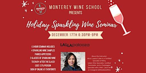 Holiday Sparkling Wine Seminar