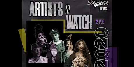 Artist to Watch 2020 tickets