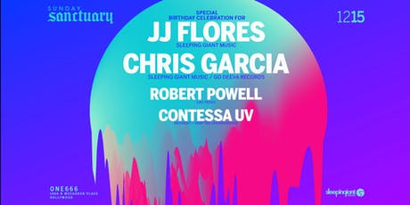 Sunday Sanctuary presents: JJ FLORES, CHRIS GARCIA, ROBBY POWELL, CONTESSA tickets
