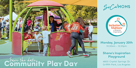 SoCalMoms Community Play Day - January 2020 tickets