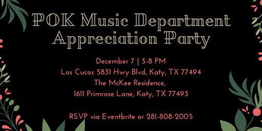Music Appreciation Party