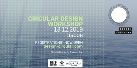 Circular Design Workshop Lisbon bilhetes