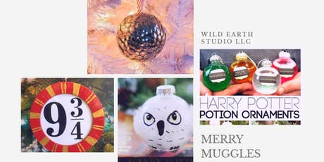 Merry Muggles: Harry Potter ornaments tickets