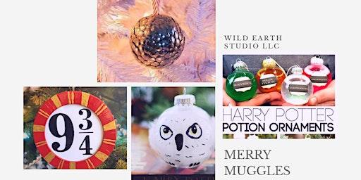 Merry Muggles: Harry Potter ornaments