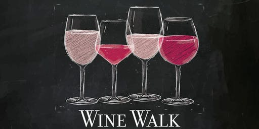 Wine Walk At The Fountains