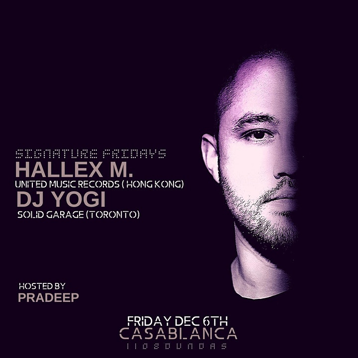 Hallex M & DJ Yogi at Casablanca image
