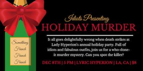 Holiday Murder tickets