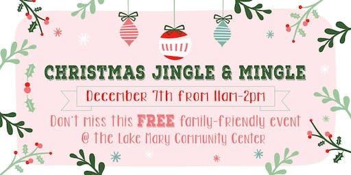 Jingle and Mingle Small Business Event with Santa