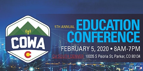 2020 COWA Education Conference tickets