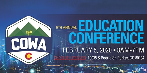 2020 COWA Education Conference
