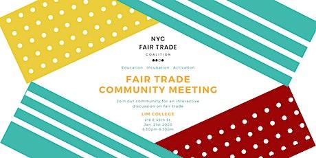 Fair Trade Community Meeting tickets