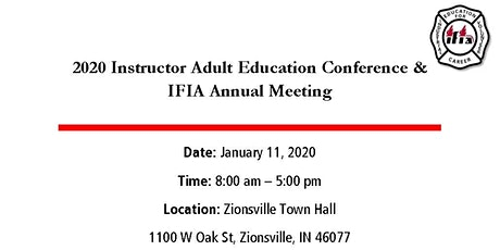 2020 Instructor Adult Education Conference & IFIA Annual Meeting tickets
