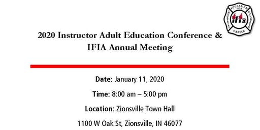 2020 Instructor Adult Education Conference & IFIA Annual Meeting