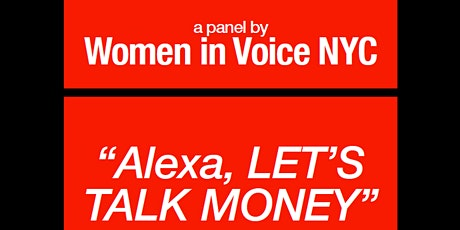 Alexa, Let's Talk Money! tickets