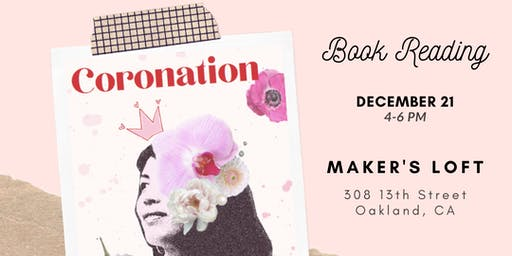 Coronation with Ruby Veridiano: Book Reading & Conversation