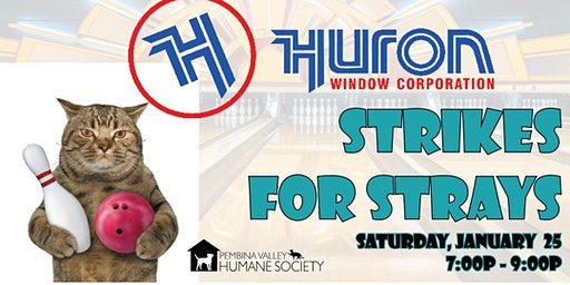 Huron Strikes for Strays Bowling Fundraiser
