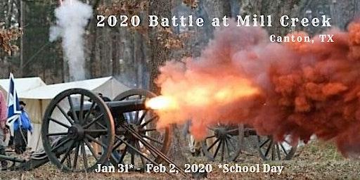 The Battle at Mill Creek, Canton Texas - Civil War Reenactment