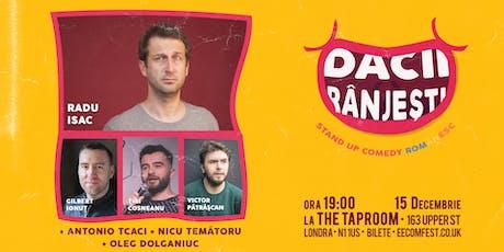 Dacii Rânjești  - Stand up Comedy Românesc - 15 Decembrie tickets