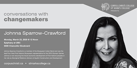 Conversations with Changemakers presents Johnna Sparrow-Crawford tickets