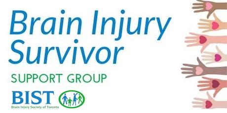 ABI Survivor Support Group - March 3, 2020 tickets