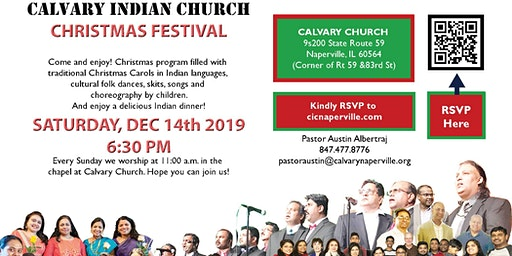 Christmas Festival - Calvary Indian Church