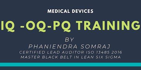IQ OQ PQ Training tickets