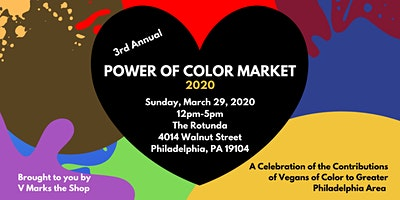 Power of Color Market 2020 - Annual Vegan Market Celebrating POC Businesses