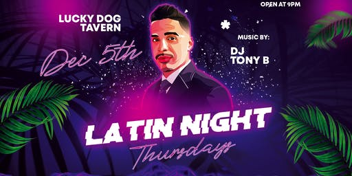 Latin Thursdays at Lucky Dog Tavern