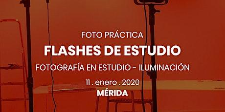 Foto Práctica | Flashes de estudio - DXS Mérida boletos