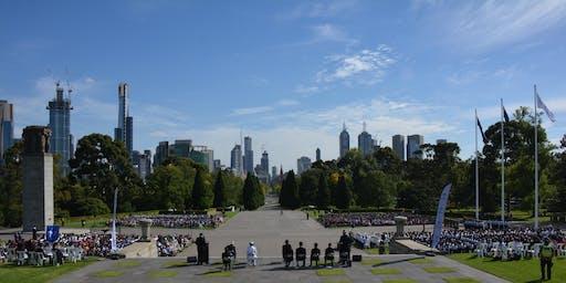 Melbourne Legacy's 89th Annual ANZAC Commemoration