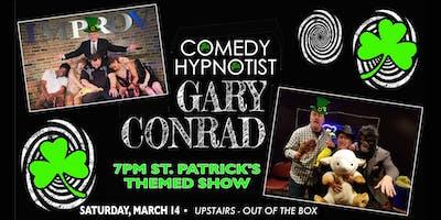 Comedy Hypnotist Gary Conrad's St. Patrick's Themed Show