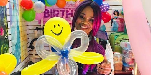 Smiles for kids! Christmas Balloon Animals