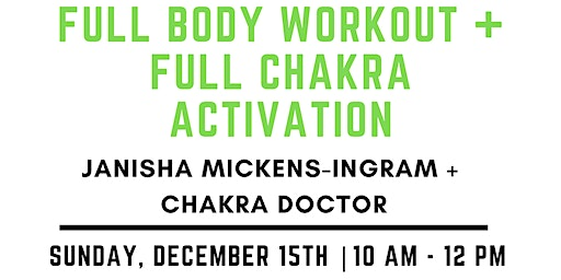 Full Body Workout with Full Chakra Activation