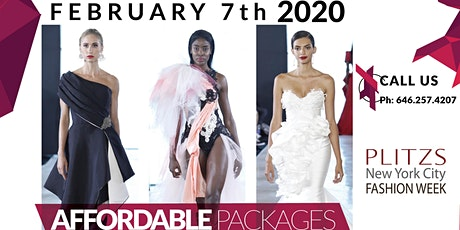 REGISTRATION SIGN UP - FASHION DESIGNERS & FASHION BRANDS - PLITZS NEW YORK CITY FASHION WEEK SHOW (FEBRUARY & SEPTEMBER) tickets