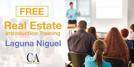 Free Real Estate Intro Session - Laguna Niguel tickets