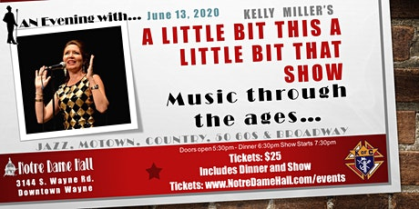 An Evening With... Kelly  Miller's A LITTLE BIT THIS A LITTLE BIT THAT SHOW tickets