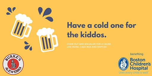 Have a cold one for the kiddos - Boston Children's Hospital