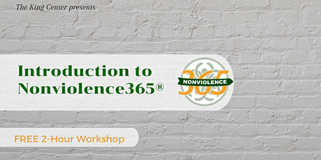 Free Introduction to Nonviolence365® - Spelman College tickets