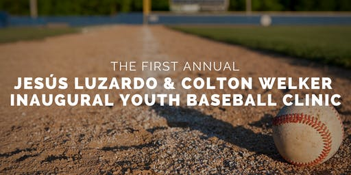 Inaugural Jesus Luzardo Jr. and Colton Welker Youth Baseball Clinic