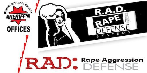 RAD Women's Basic AND Keychain Self-Defense, APRIL 2020 with Weber-Morgan RAD