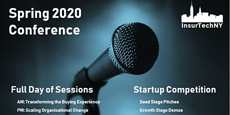 InsurTech NY: Spring 2020 Conference tickets