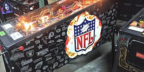 Kidforce NFL Pinball tickets